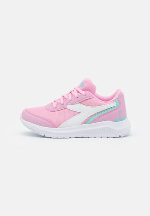 JR UNISEX - Neutral running shoes - pink lady/white