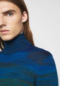 Missoni - LONG SLEEVE CREW NECK - Pullover - dark blue - 5