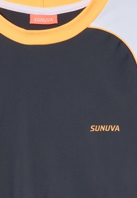 Sunuva - BOYS LONG SLEEVE RASH VEST - Koszulki do surfowania - charcoal grey - 3