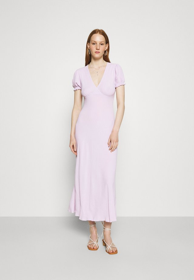 POET DRESS - Robe d'été - lavender