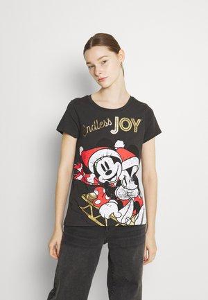 ONLDISNEY CHRISTMAS BOX - T-shirt print - phantom