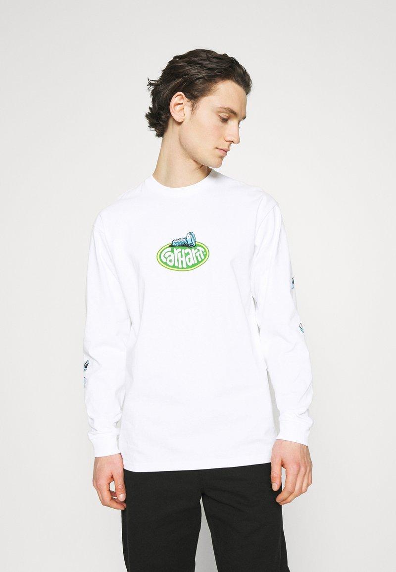 Carhartt WIP - SCREW - Long sleeved top - white
