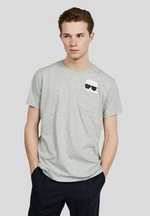 IKONIK - T-Shirt print - grey melange