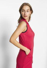 Callaway - SOLID GOLF DRESS - Sukienka sportowa - virtual pink - 4