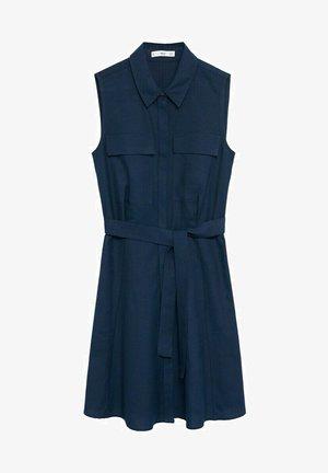 LOUISAC-H - Košilové šaty - bleu marine foncé