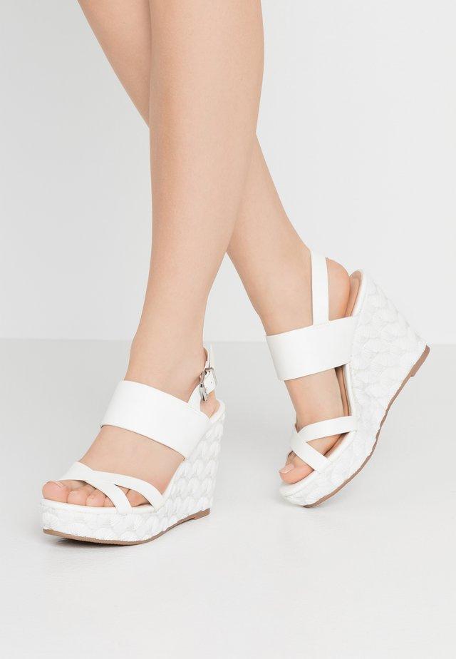 SWEETHEART - Zapatos de novia - white
