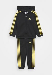 adidas Performance - SHINY UNISEX - Tracksuit - black/gold - 0