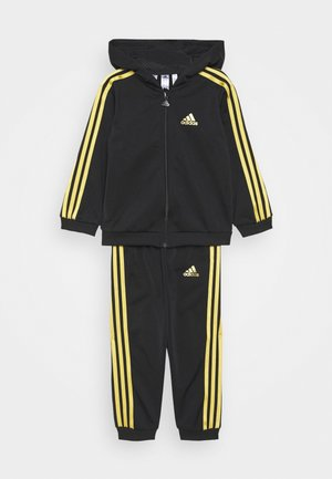 SHINY UNISEX - Tracksuit - black/gold