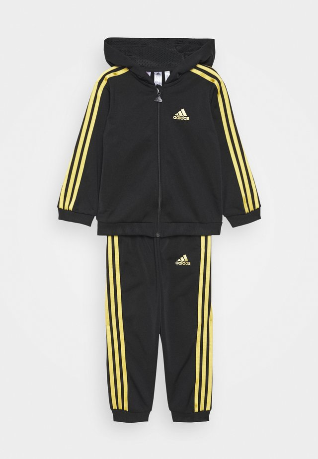 FAVOURITES TRAINING SPORTS TRACKSUIT BABY SET - Träningsset - black/gold