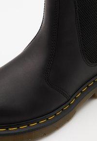 Dr. Martens - 2976 UNISEX - Korte laarzen - black - 5