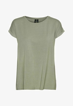 KURZÄRMELIG - Basic T-shirt - desert sage