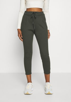 VMEVA LOOSE STRING PANTS - Verryttelyhousut - peat