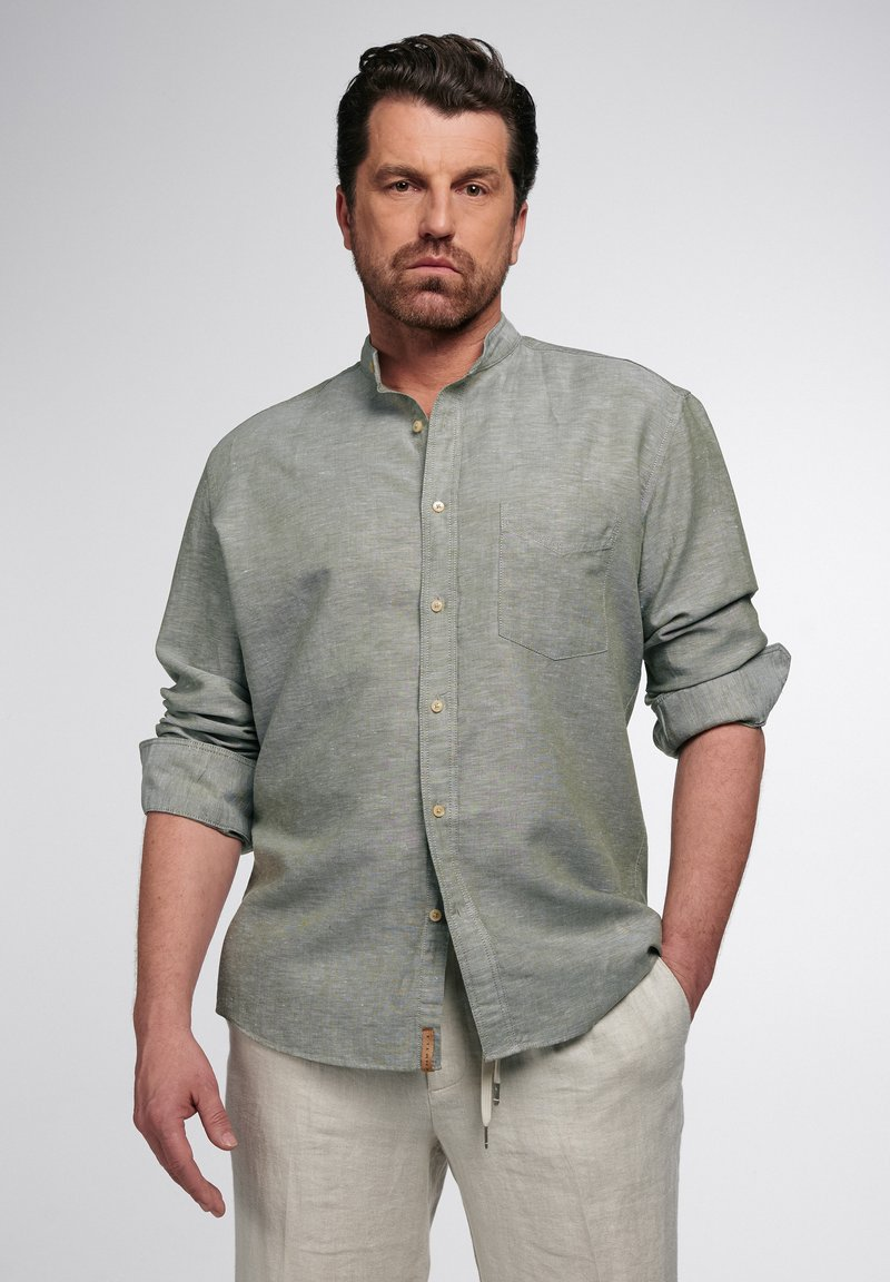 Eterna - REGULAR FIT - Shirt - olivgrün