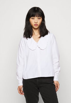 OBJIBA COLLAR  - Blouse - cloud dancer
