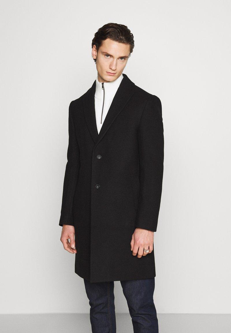 Isaac Dewhirst - OPTION - Classic coat - black