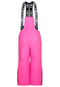 CMP - SALOPETTE UNISEX - Spodnie narciarskie - pink fluo - 1
