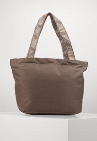 Nike Sportswear - ADVANCED - Handbag - olive grey/enigma stone/white - 1