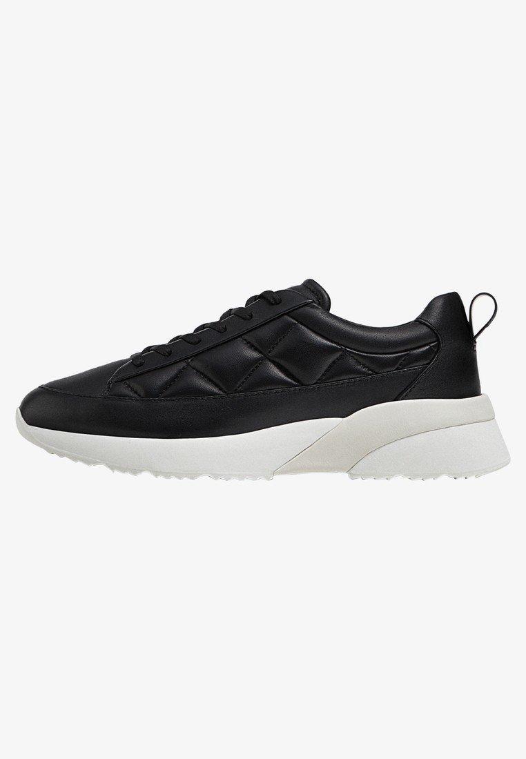 MIT STEPPMUSTER - Sneaker low - black