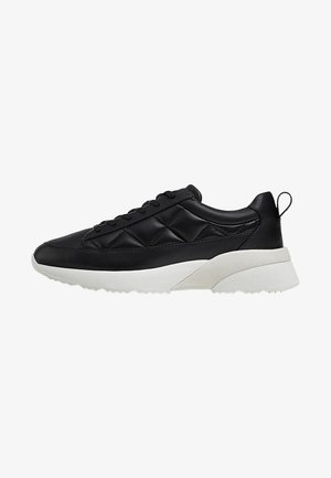 MIT STEPPMUSTER - Sneakersy niskie - black