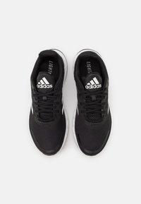 adidas Performance - DURAMO - Juoksukenkä/neutraalit - core black/footwear white/carbon - 3