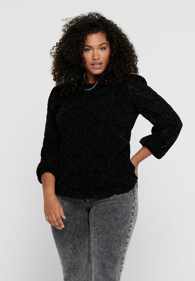 ZEBRA - T-shirt à manches longues - black