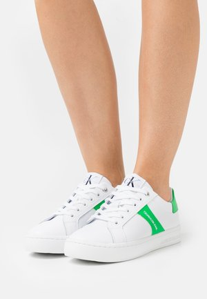 CUPSOLE LACEUP - Trainers - bright white/ardean tucan