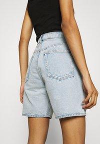 ARKET - SHORTS - Denim shorts - light blue - 3