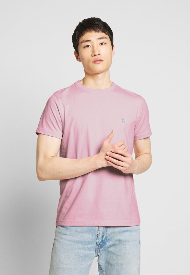 BASIC SOLID TEE - Basic T-shirt - pink lady