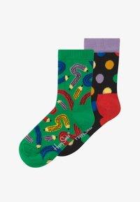 Happy Socks - KIDS PEN 2 PACK UNISEX - Socks - multi-coloured - 2