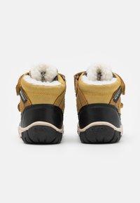 Geox - OMAR BOY WPF - Winter boots - yellow/blue - 2