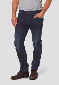MARCUS - Straight leg jeans - twilight blue used - 0