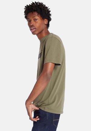 KENNEBEC RIVER LINEAR TEE - T-shirt med print - grape leaf