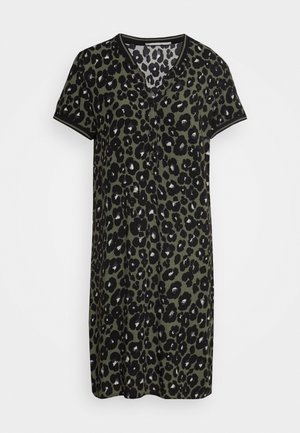 UNGEFÜTTERT KURZ - Day dress - khaki/black