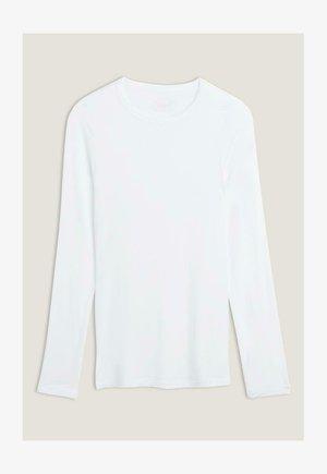 Long sleeved top - bianco latte