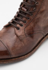 Cordwainer - Lace-up ankle boots - todi washed cognac - 3