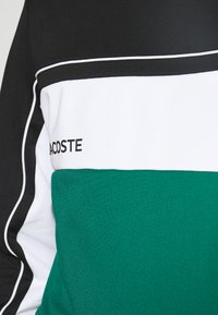 Lacoste Sport - TENNIS - Sweatshirt - black/bottle green/white - 4