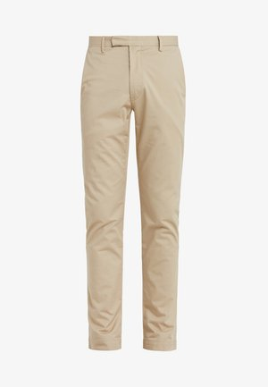 FLAT PANT - Trousers - classic khaki