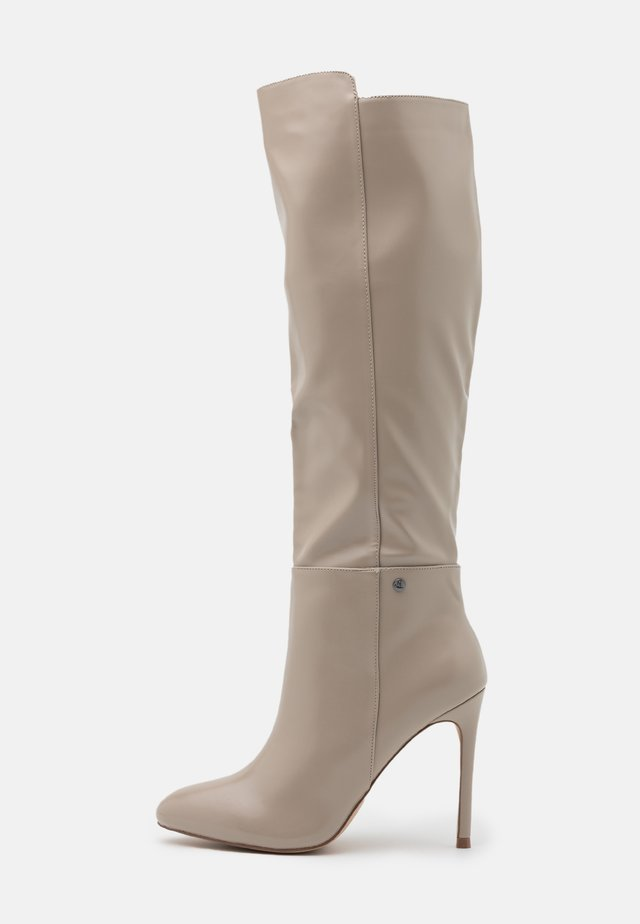 JOLIE - High heeled boots - taupe