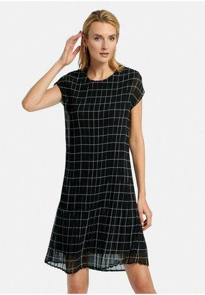 ABEND - Day dress - schwarz/offwhite