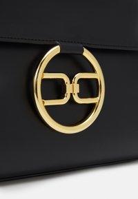 Elisabetta Franchi - RING LOGO SHOULDER BAG - Handbag - nero - 6