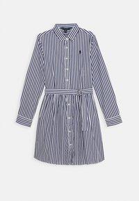 Polo Ralph Lauren - BENGAL DRESSES - Shirt dress - navy - 0