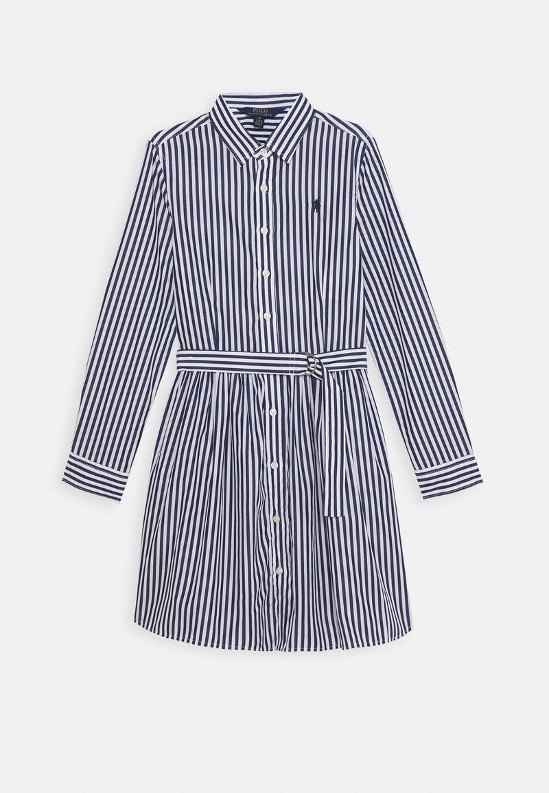 Polo Ralph Lauren - BENGAL DRESSES - Shirt dress - navy
