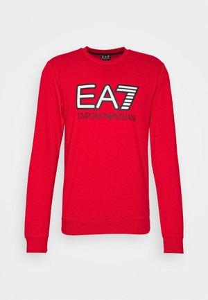 Sweatshirt - racing red
