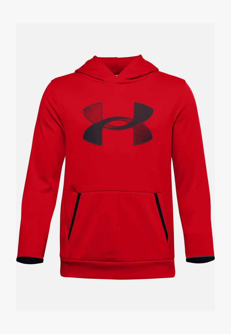 Under Armour - Hoodie - red