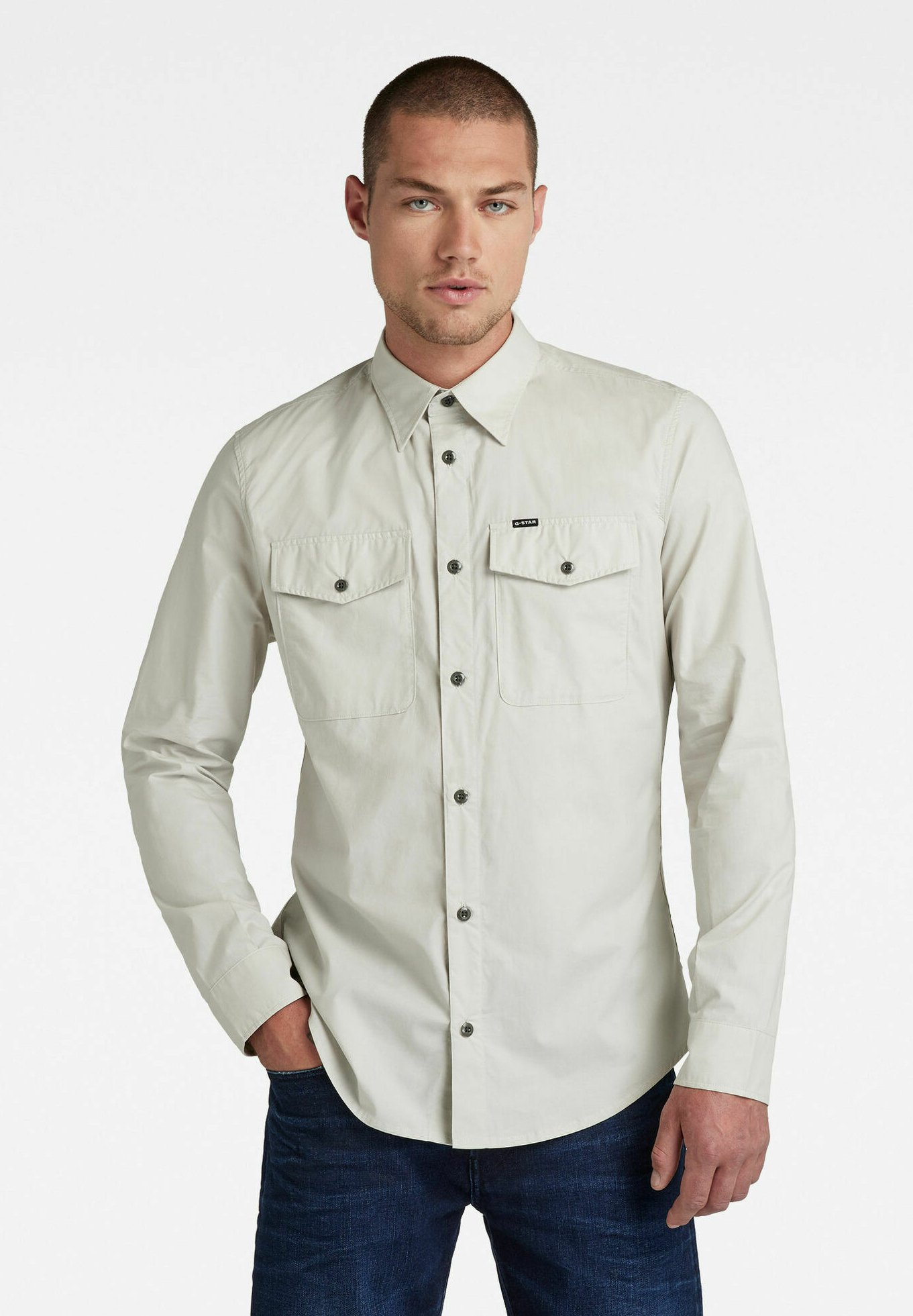 Uomo MARINE SLIM - Camicia