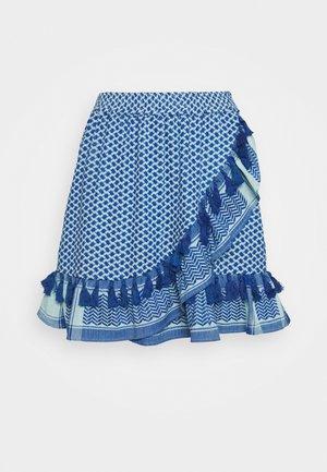 SONATI - Áčková sukně - saphire