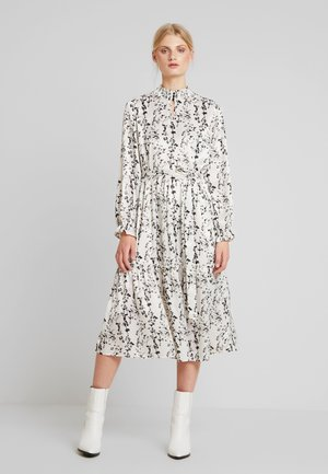 ELLIE MIDI PARTY DRESS - Vestito lungo - chalk