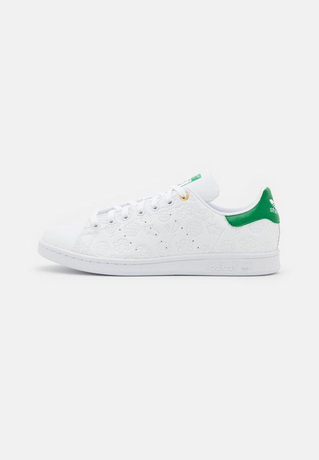 STAN SMITH - Sneakers basse - footwear white/green/chalk white