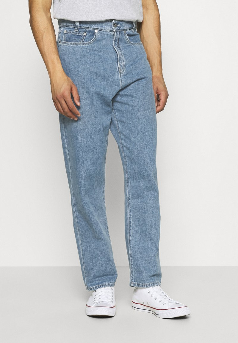Vintage Supply - TROUSERS - Straight leg jeans - light wash