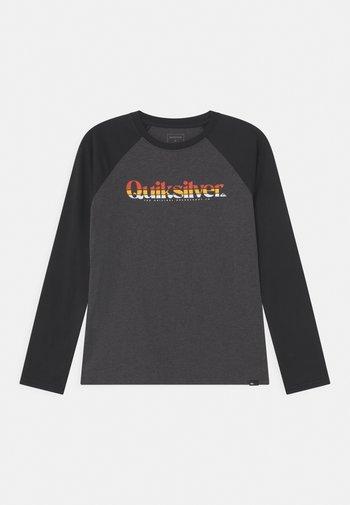PRIMARY COLOURS - Maglietta a manica lunga - charcoal heather